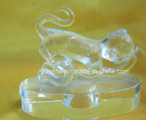 High Quality Transparent Crystal Animals Monkey for Souvenir pictures & photos