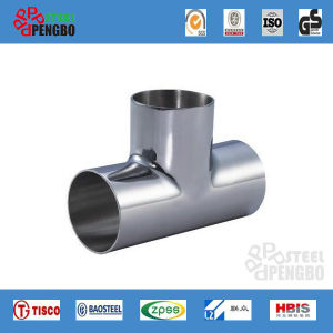 ASTM Std Stainless Steel Pipe Three Tee pictures & photos