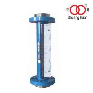 Dn15 Calibrate by Krohne Equipment Flange Connection Variable Area Glass Flowmeter for Waste Treatment Use pictures & photos