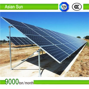 OEM ODM Custom Ground Mount Solar Cell Steel Bracket pictures & photos