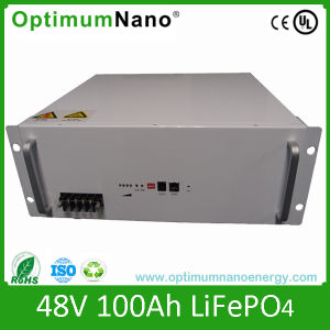 48V 100ah LiFePO4 Battery for Communication Base Station pictures & photos