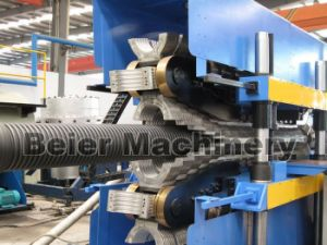 PE 225-800mm Double Wall Corrugated Pipe Production Line pictures & photos