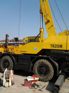 Used Tadano 25t Rough Crane Tr250m pictures & photos