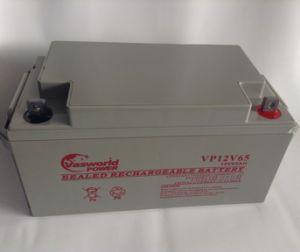VRLA Solar Battery for Solar Panels 12V65ah pictures & photos