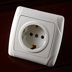 Surface Mounted Shucko Wall Socket pictures & photos
