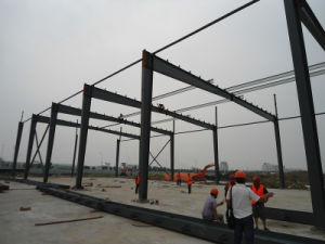 Prefabricated Steel Frame for Industrial Building (KXD-SSW1465) pictures & photos