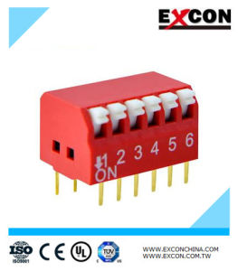 China Manufacturer Sdm Micro Switch/Slide Switch Excon Rpl-06-R pictures & photos