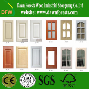 PVC Film MDF Core Kitchen Cabinet Door pictures & photos