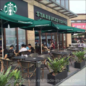 Best Choices Restaurant Furniture Starbucks Patio Aluminum Cafe Chair with Sling Back Vintage Finish pictures & photos