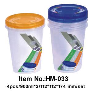 Revolve and Tighten Preserving Food Box (HM-033)