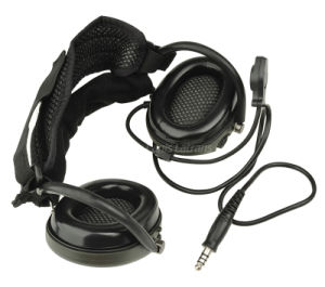 Radio Earphones Tactical Military Neckband Headset for Wargame and Army Cl42-0023 pictures & photos