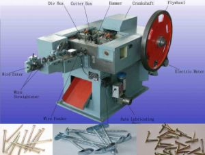 Machine to Make Steel Nails pictures & photos