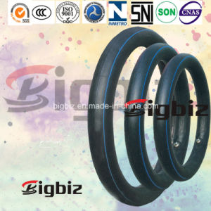 Popular Size Natural Rubber Motercycle Inner Tube of 3.25-18 pictures & photos