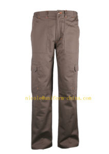 En11611/En11612 Standards Flame Retardant and Anti-Static Mens Safety Work Pants with Six Pockets pictures & photos