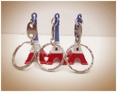 Eiffel Tower Key Chain Decorative Mini Gift Key Ring pictures & photos