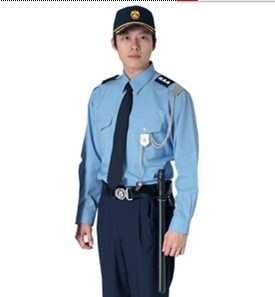 Cheap Security Guard Uniforms of Good Quality Wu0012 pictures & photos