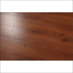 Classical Red Color High Quality Laminate Flooring for Home pictures & photos