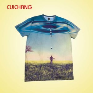 Custom Sport Fabric Full Sublimation Printing T Shirt pictures & photos
