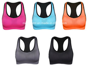 OEM Dri Fit Women Sexy Yoga Fitness Bra Sports Yoga Bra New Style Bra Top Sportswear for Women pictures & photos