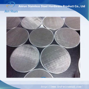304 316 Stainless Steel Filter Disc pictures & photos