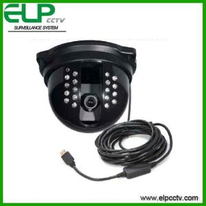CCTV Dome USB Camera Allows Human Face Detection, Remote Surveillance