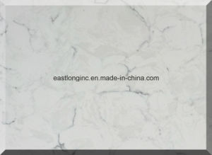 White Marble Engineered Quartz Stone for Home Decoration pictures & photos
