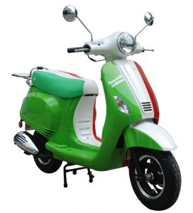 Roman Vespa Vintage Retro Scooters