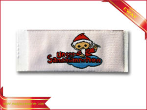 Soft Woven Main Label for Baby Clothing Kids Fabric Label pictures & photos