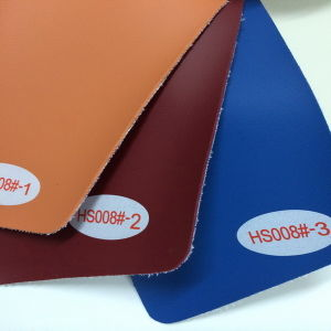 The Hot Sale PVC Leather Fabric for Decoration (HS008#) pictures & photos