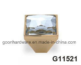 New Crystal Furniture Cabinet Kitchen Pull Handle Kknob G18728 pictures & photos