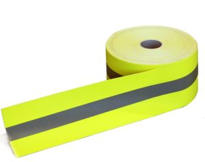 Flame Retardant Warning Reflective Tape pictures & photos