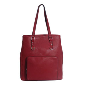 Fashion Women Vintage Synthetic Leather Hand Bags with Pocket