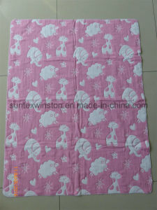 100% Cotton/Organic Cotton/Bamboo Muslin Swaddle pictures & photos