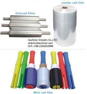 Clear Multicolor Bunding Stretch Film Jumbo Wrap Film pictures & photos