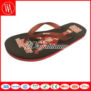Child Beach Flip Flops Men Outdoors Leisure Slippers pictures & photos