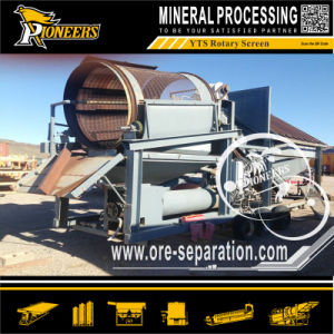 Solid Waste Recycling Quarry Stone Screen Rotary Compost Trommel Mining