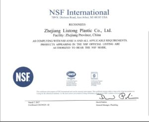 NSF Certificate ASTM Dwv D2665 Two Way Cleanout Tee pictures & photos