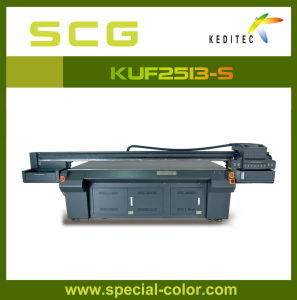 New Multi-Functional Panel Flatbed UV Printer with Seiko pictures & photos