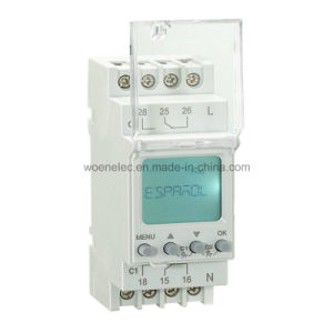 24-264VAC/DC Double Channel Yearly Time Switch pictures & photos