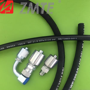 Reusable NPT Male Thread One Piece Hose Fitting (10143) pictures & photos
