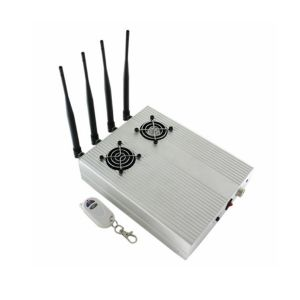 New Style High Power CDMA3ggsm Blocker with 2 Cooler Fans Desktop Cell Phone Jammer pictures & photos