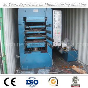 Rubber Tile Vulcanizing Press Machine From China Factory pictures & photos