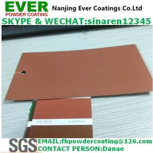 Ral8004 Copper Brown Color Metallic Glitter Powder Coating pictures & photos