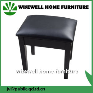 Solid Wood Living Room Stool Furniture for Dresser (W-LZ-S508) pictures & photos