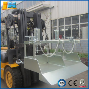 Humanization Design Steel Forklift Parts Wheelie Bin Tipper