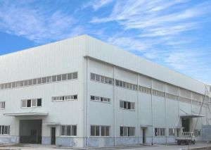 Prefabricated Steel Structure Algeria Warehouse (BYSS-333) pictures & photos