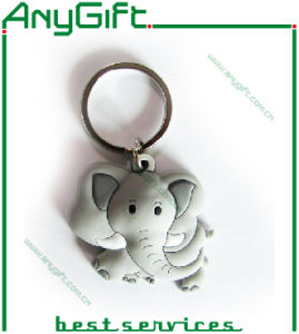 Christmas Soft PVC Keychain with Customized Size pictures & photos