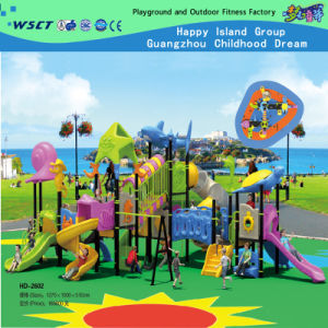 New Design School Playground Set on Stock (HD-2602) pictures & photos
