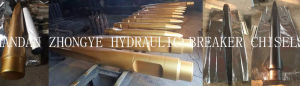 Hydraulic Breaker Hammer Tools Breaker Chisels pictures & photos