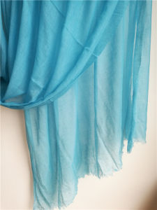 Cashmere Supper Light Sheer Shawl 2001# pictures & photos